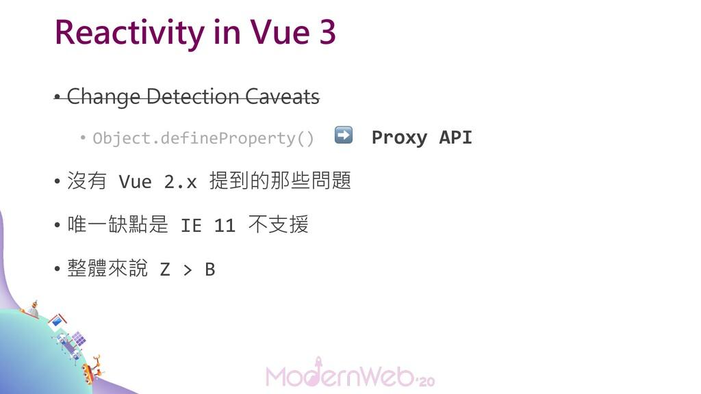 Reactivity in Vue 3 • Change Detection Caveats ...