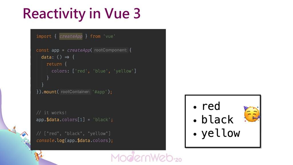 Reactivity in Vue 3