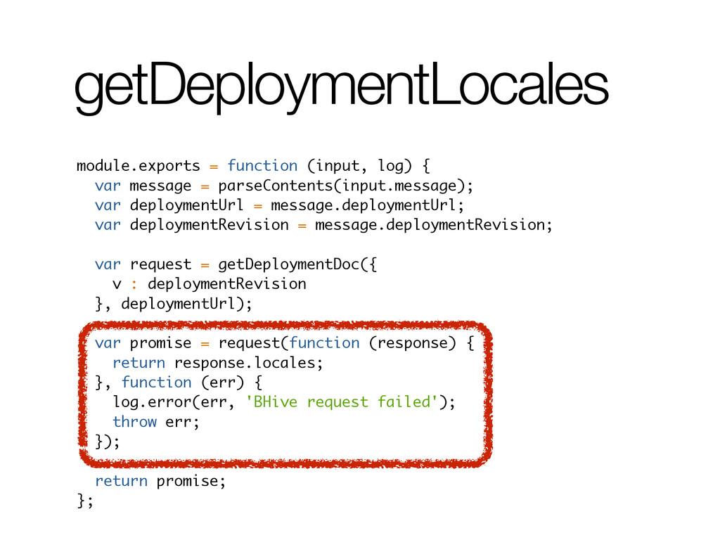 getDeploymentLocales module.exports = function ...