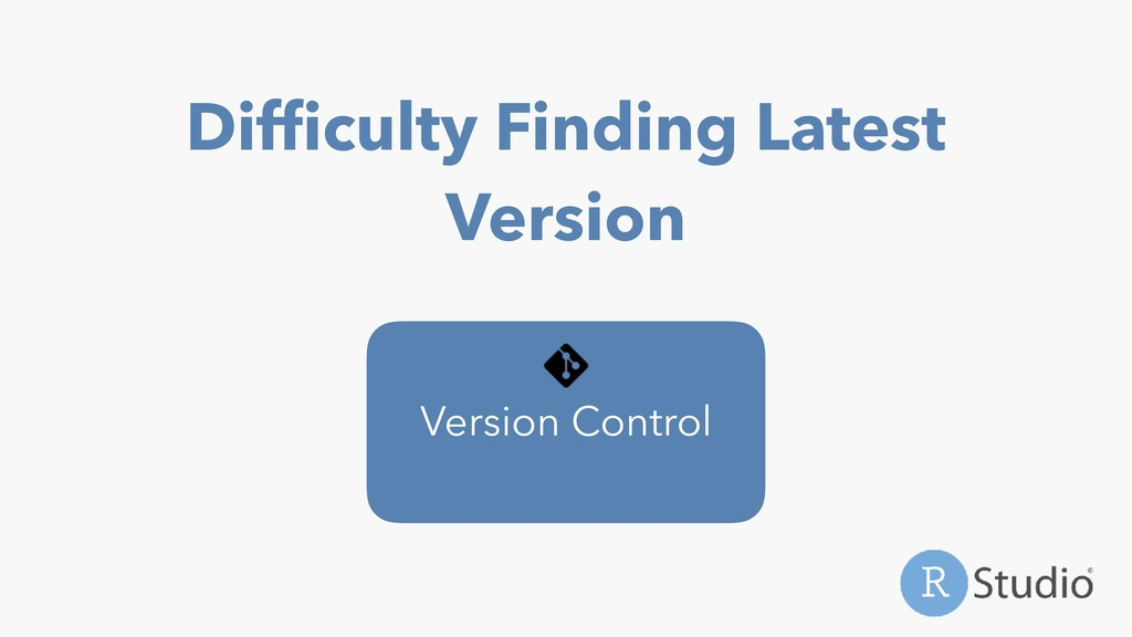 Difficulty Finding Latest Version Version Control