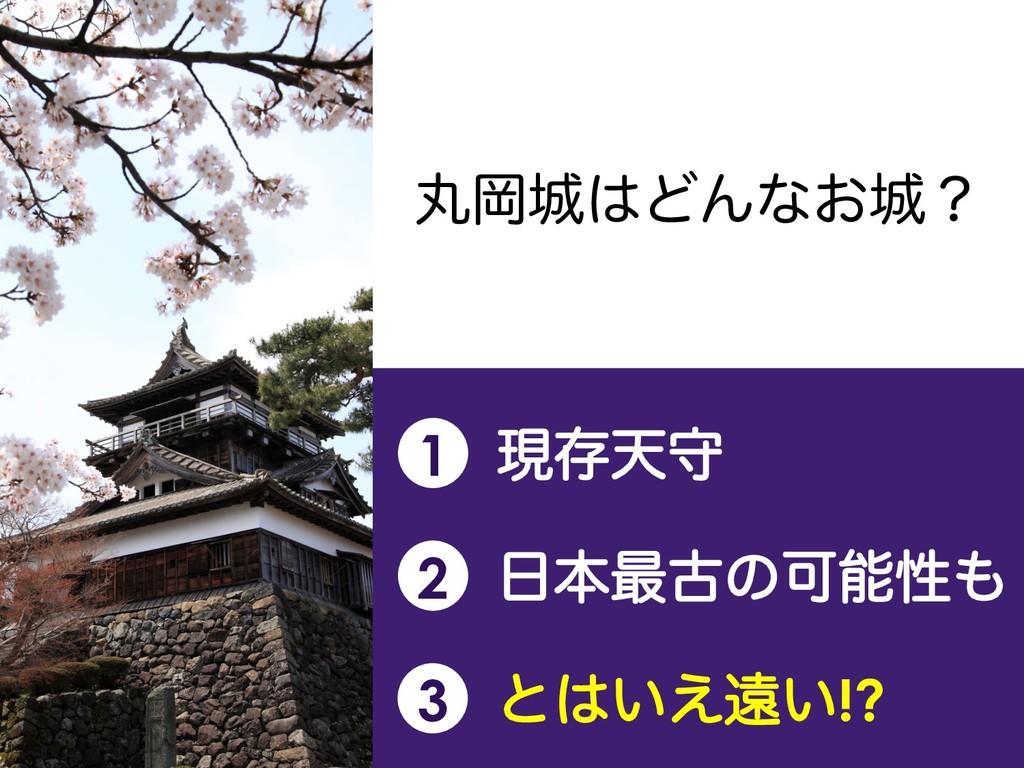 ؙԬͲΜͳ͓ʁ 1 ݱଘఱक 2 ຊ࠷ݹͷՄੑ 3 ͱ͍͑ԕ͍!?