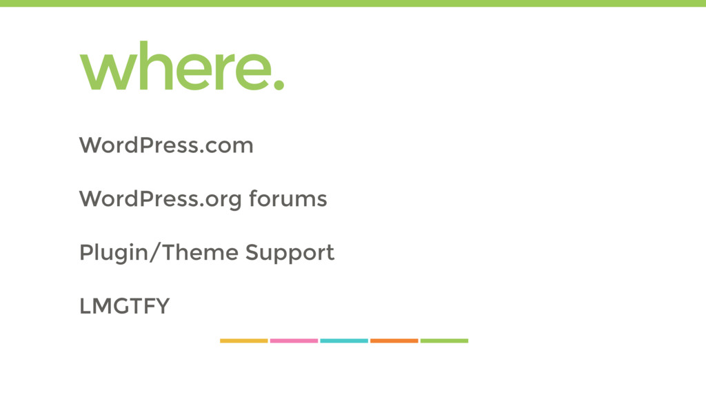 where. WordPress.com WordPress.org forums Plugi...