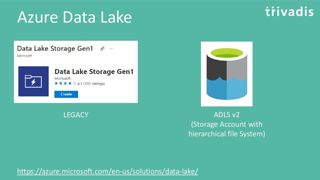 Azure Data Lake https://azure.microsoft.com/en-...
