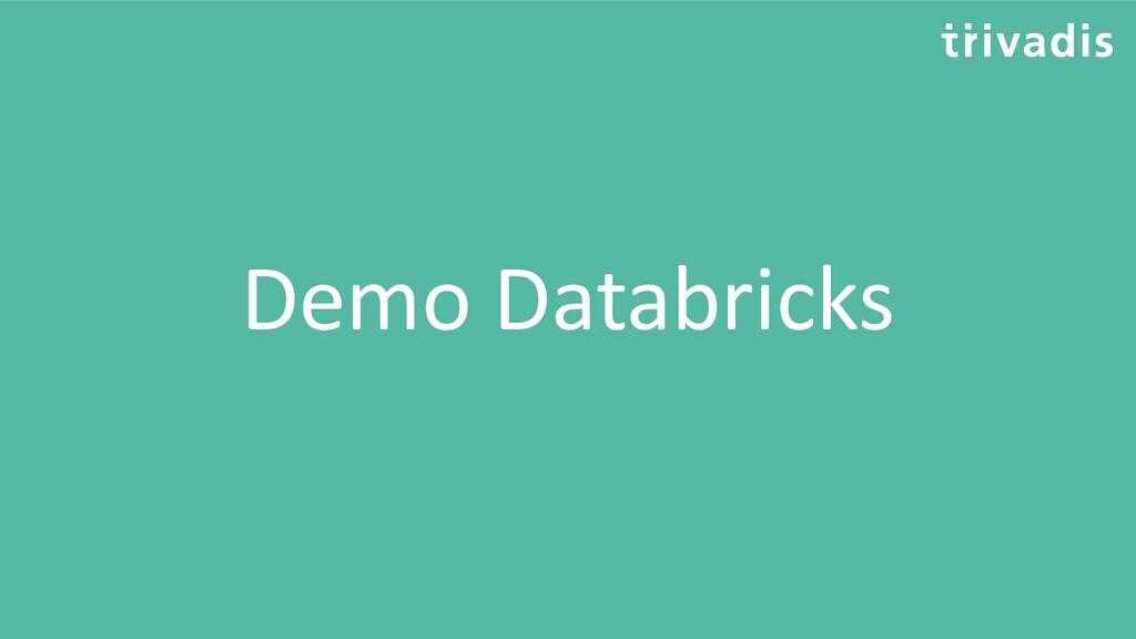 Demo Databricks
