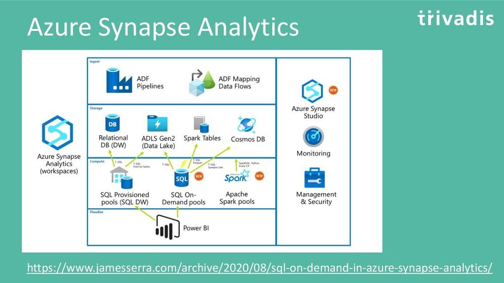 Azure Synapse Analytics https://www.jamesserra....