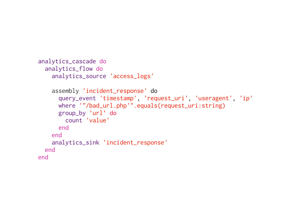 analytics_cascade do analytics_flow do analytic...