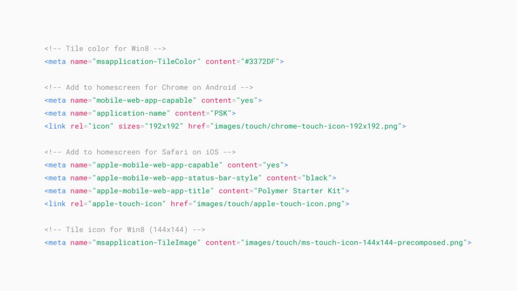 "<!-- Tile color for Win8 --> <meta name=""msappl..."