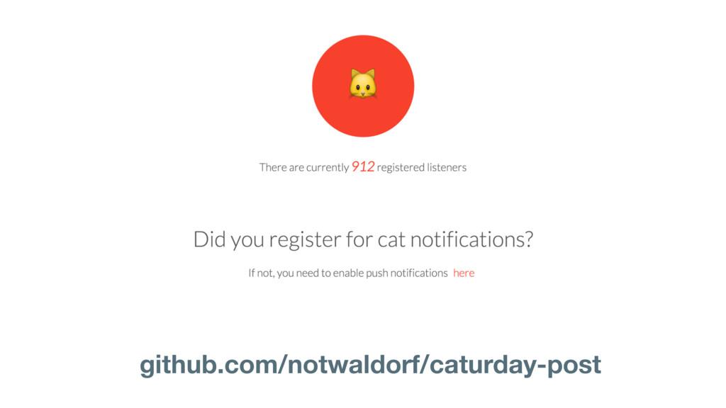 github.com/notwaldorf/caturday-post