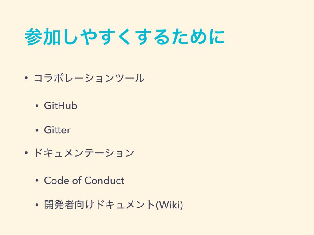 Ճ͘͢͢͠ΔͨΊʹ • ίϥϘϨʔγϣϯπʔϧ • GitHub • Gitter • υ...