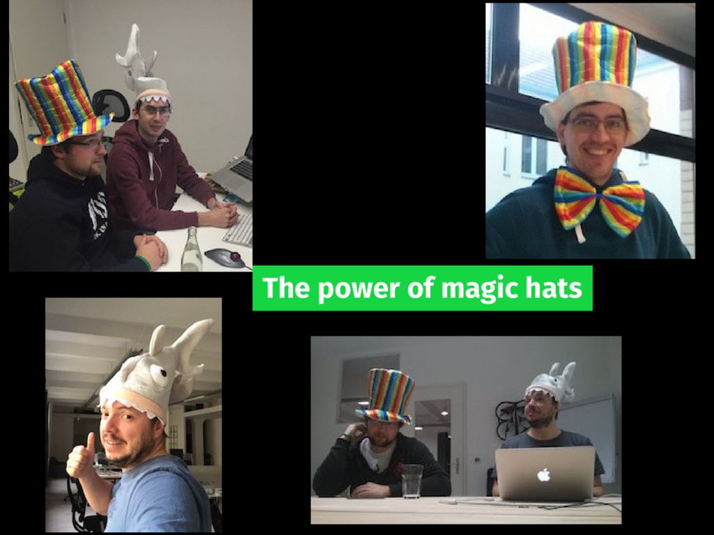 The power of magic hats