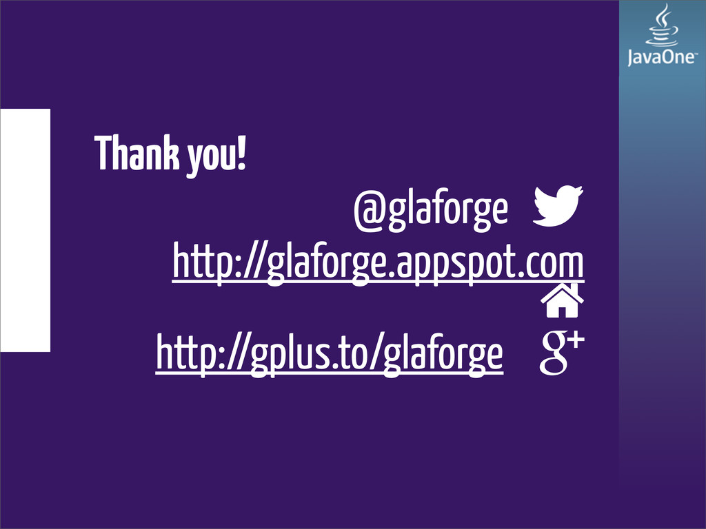 Thank you! @glaforge  http://glaforge.appspot....