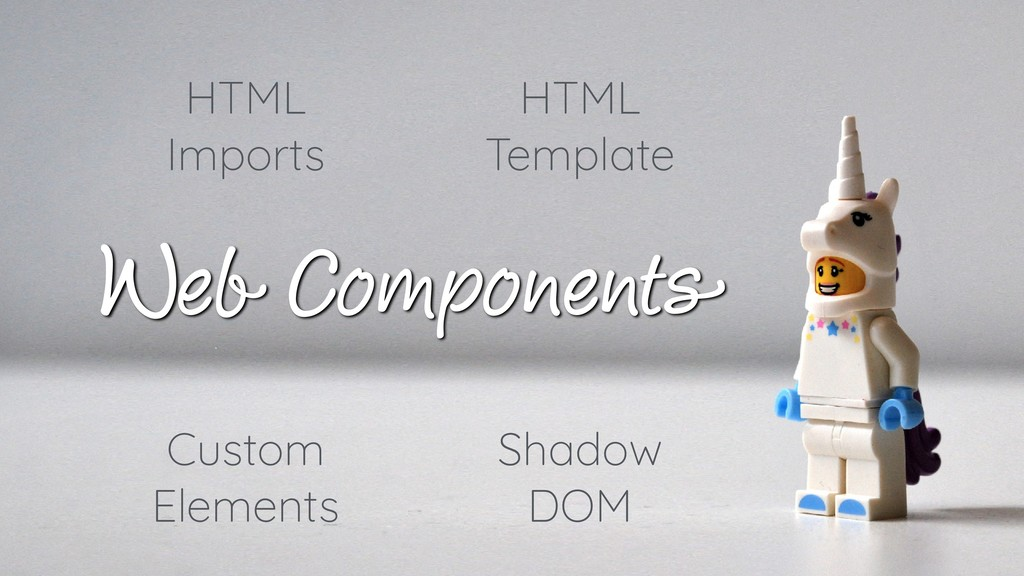 Web Components HTML Imports Custom Elements Sha...
