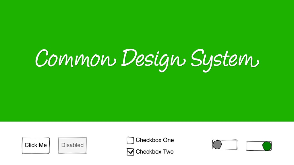 Common Design System