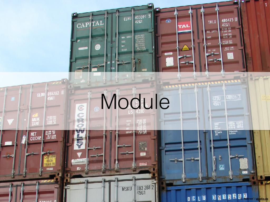 Module C. Nöhren / pixelio.de