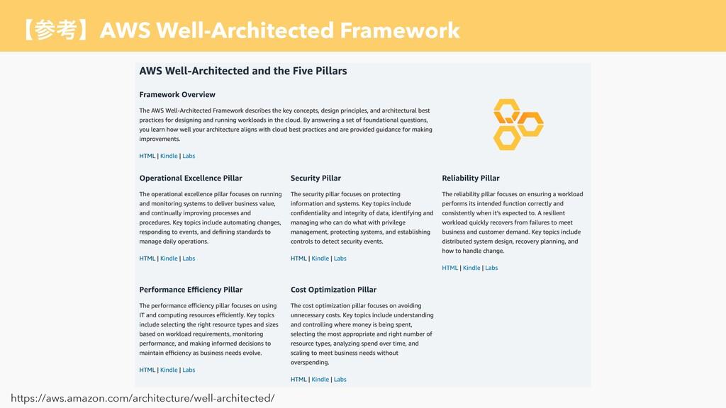 ʲߟʳAWS Well-Architected Framework https://aws....