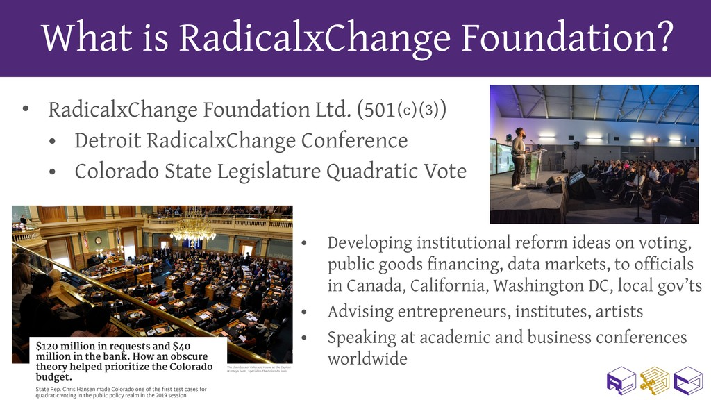 What is RadicalxChange Foundation? • RadicalxCh...