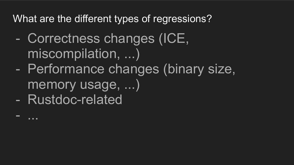 What are the different types of regressions? - ...