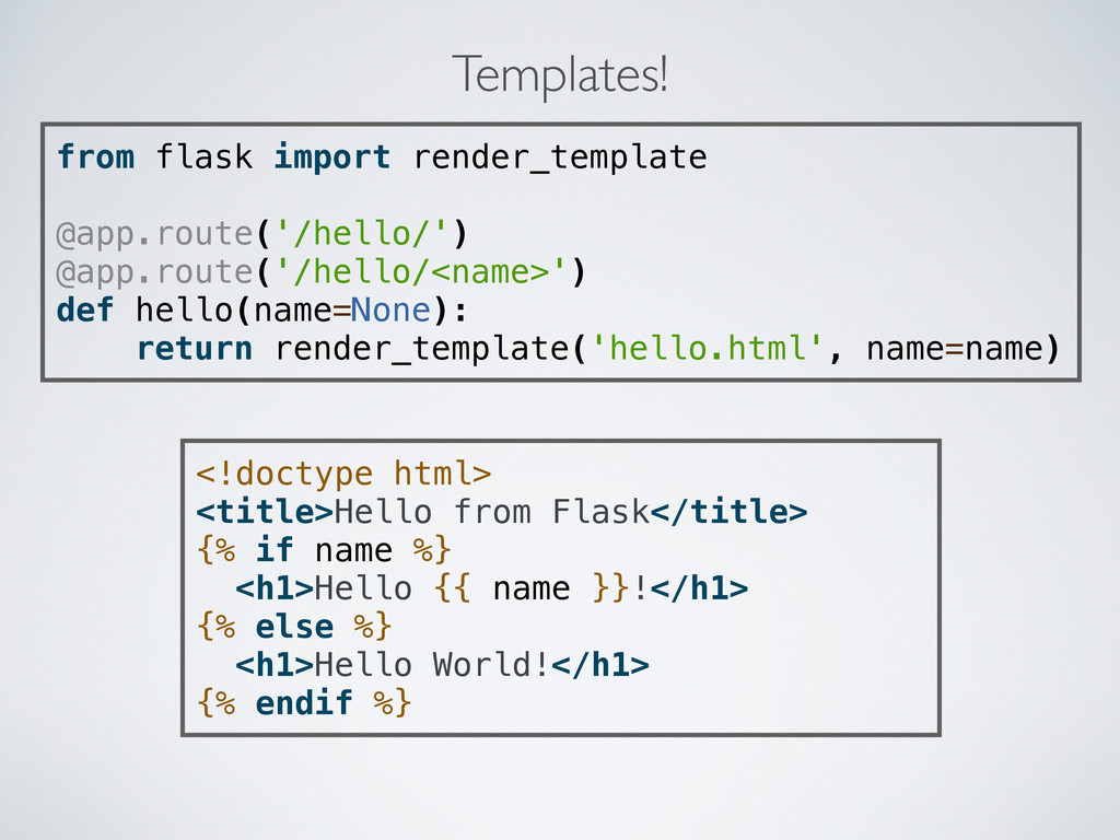 from flask import render_template @app.route('/...