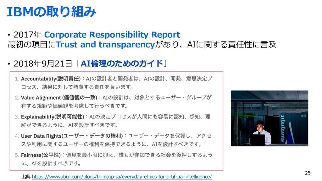 IBMの取り組み • 2017年 Corporate Responsibility Repor...