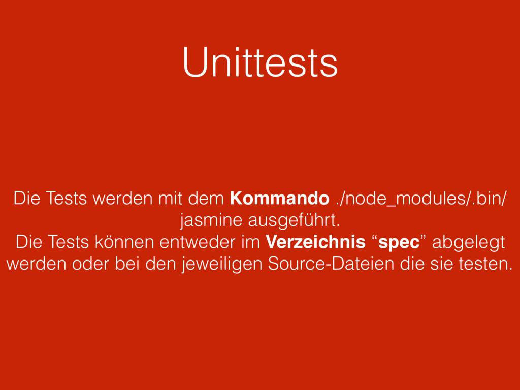 Unittests Die Tests werden mit dem Kommando ./n...