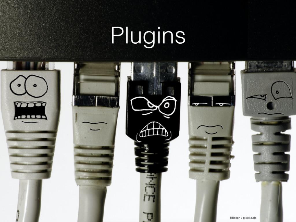 Plugins Klicker / pixelio.de