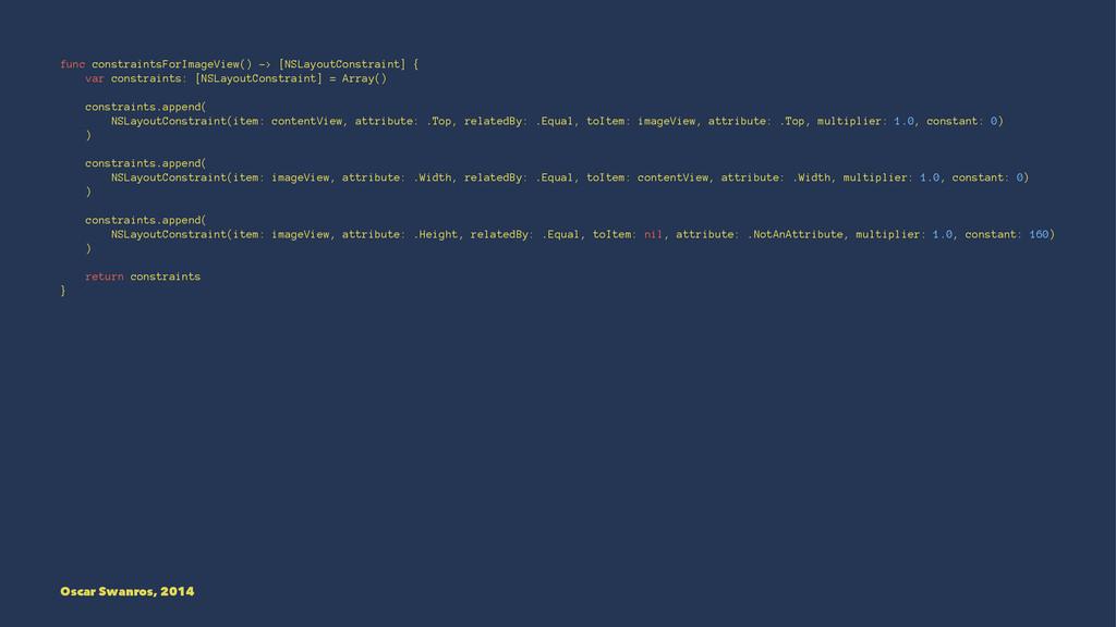 func constraintsForImageView() -> [NSLayoutCons...