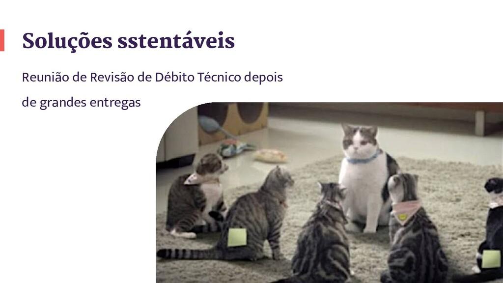 Soluções sstentáveis Reunião de Revisão de Débi...