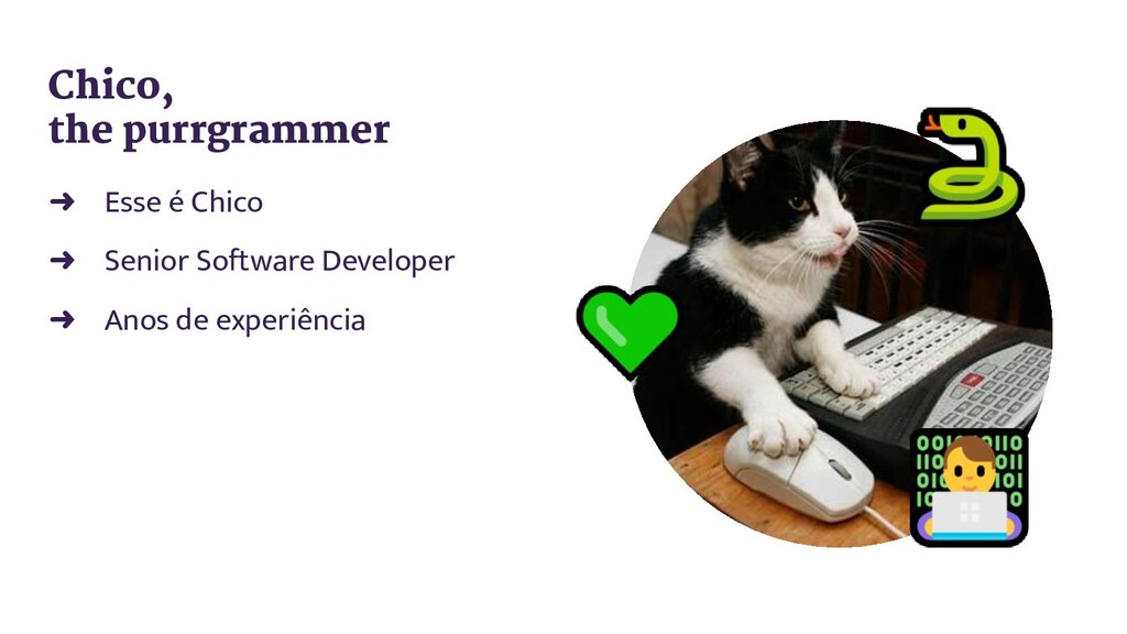 ➜ Esse é Chico ➜ Senior Software Developer ➜ An...