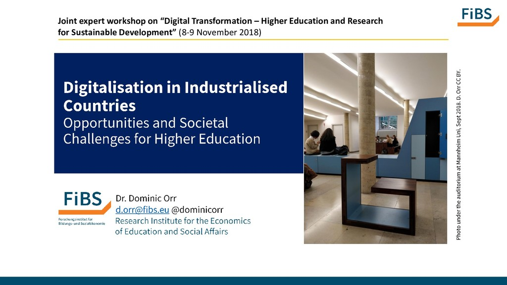 "Joint expert workshop on ""Digital Transformatio..."