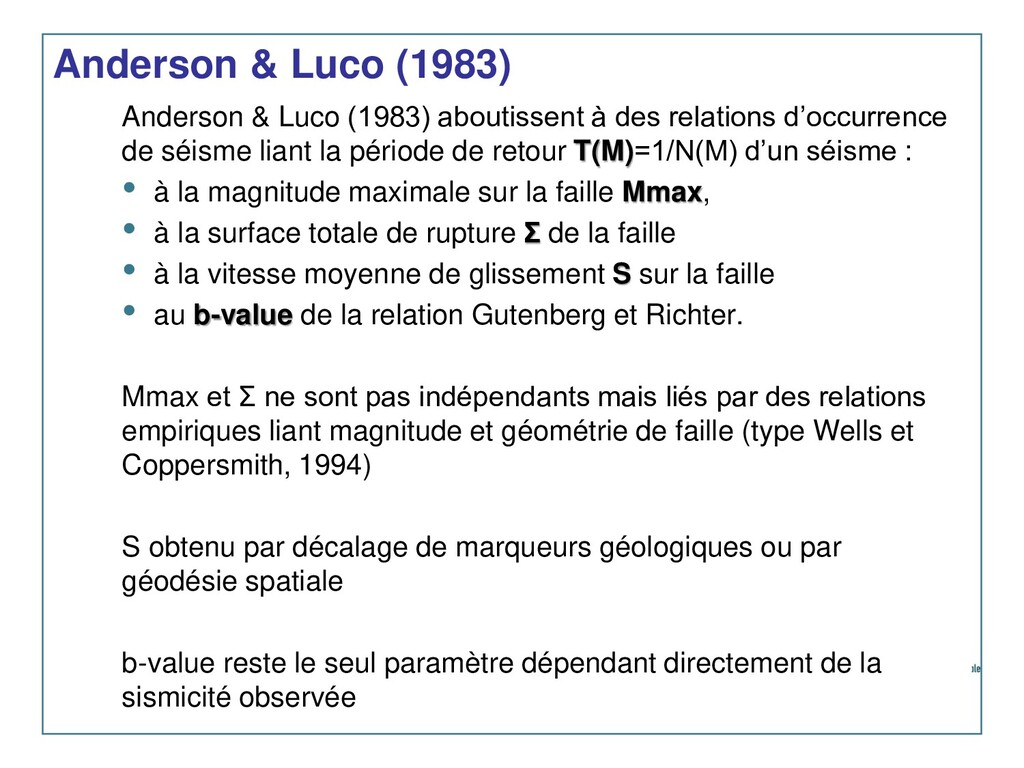 Anderson & Luco (1983) Anderson & Luco (1983) a...