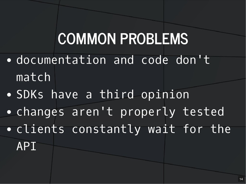 COMMON PROBLEMS COMMON PROBLEMS documentation a...