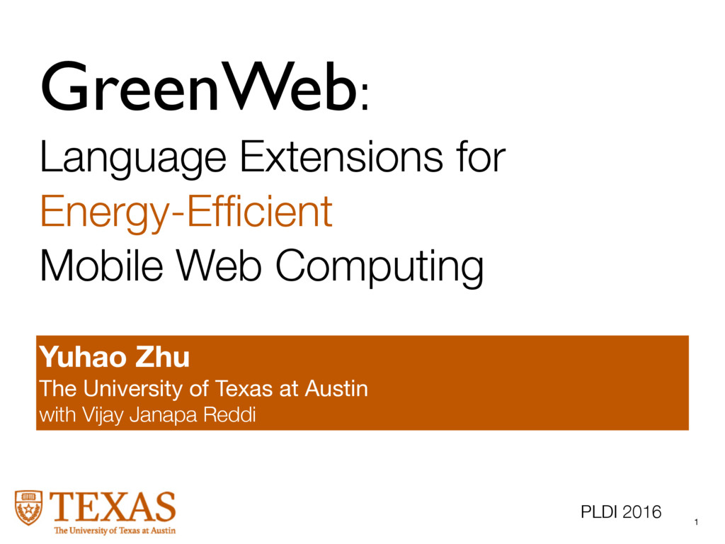 GreenWeb: Language Extensions for Energy-Efficie...