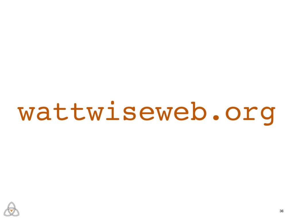 36 wattwiseweb.org