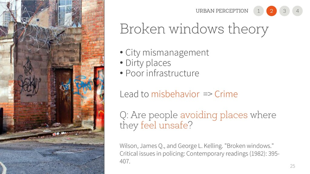 Broken windows theory • City mismanagement • Di...