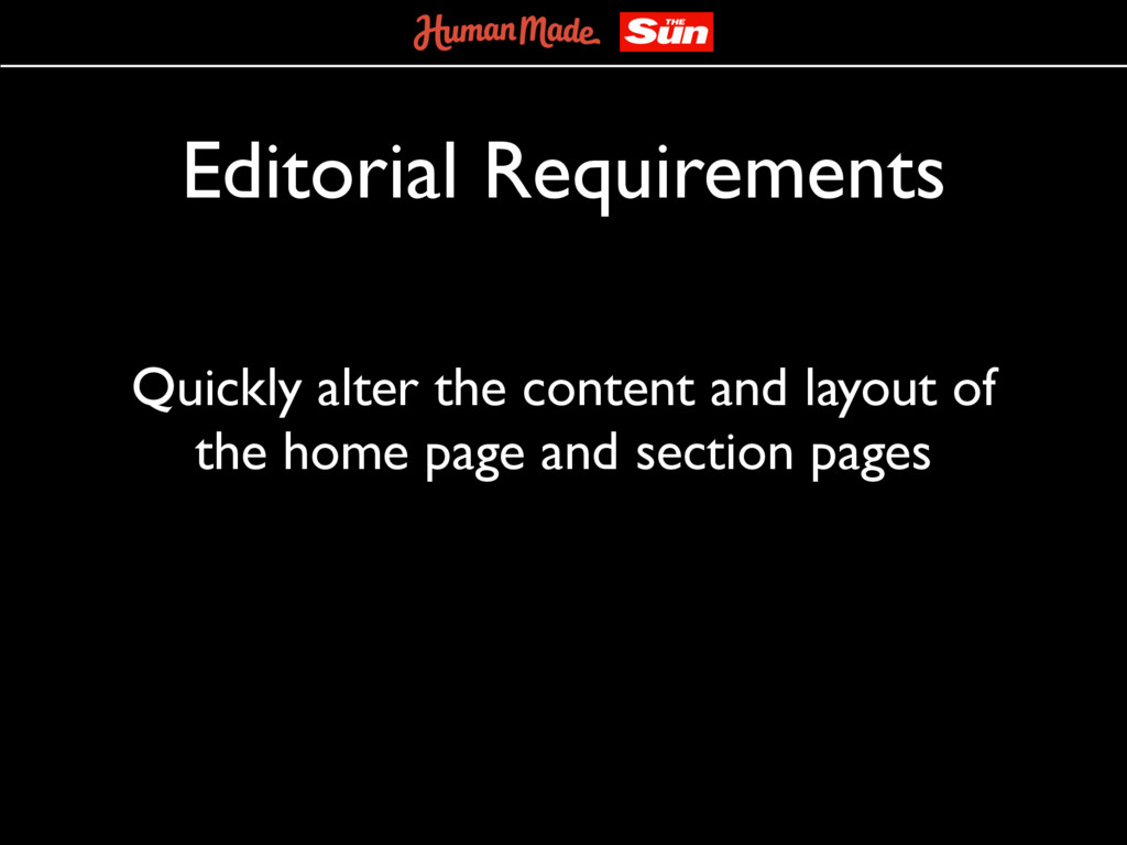 Editorial Requirements Quickly alter the conten...