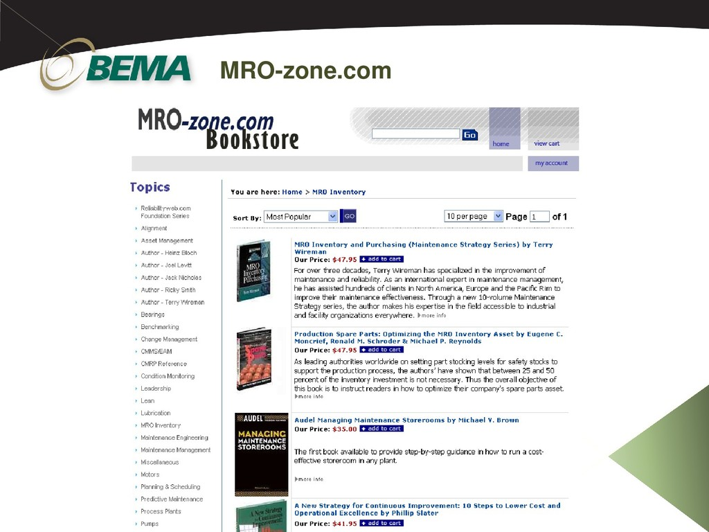 MRO-zone.com