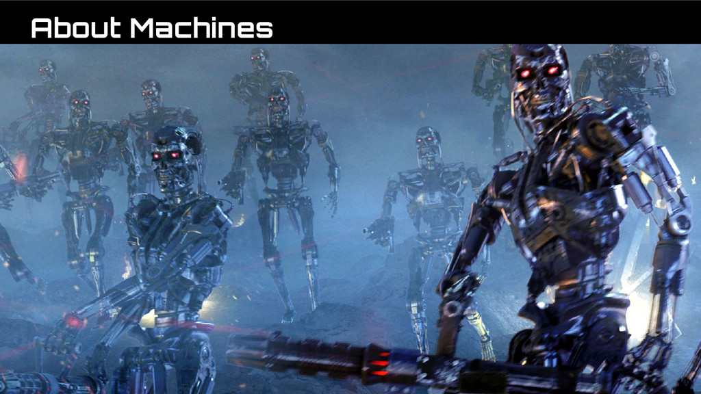 About Machines