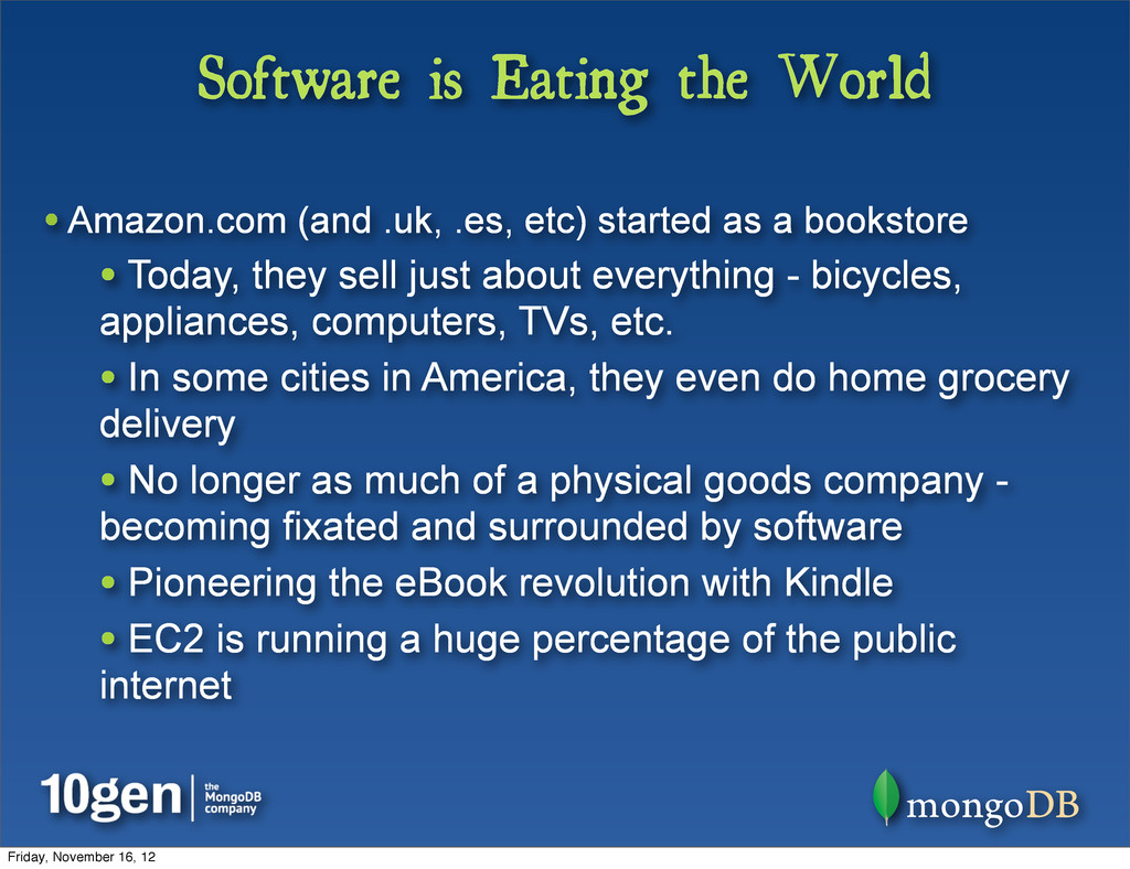 Software is Eating the World • Amazon.com (and ...
