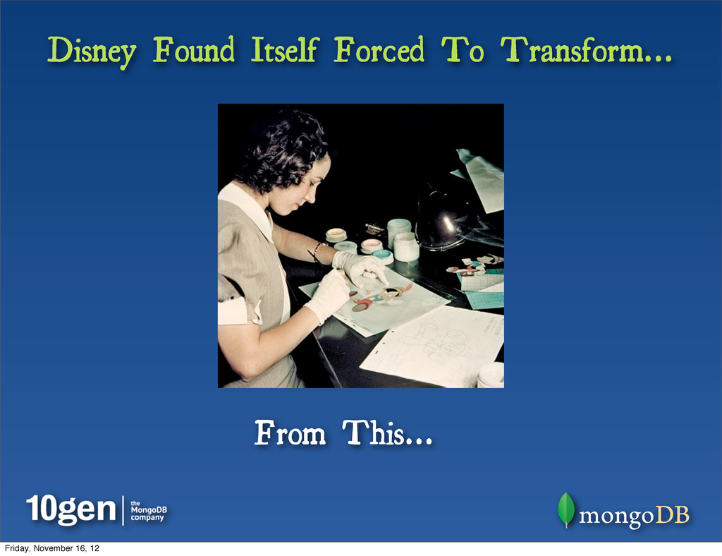 Disney Found Itself Forced To Transform... From...