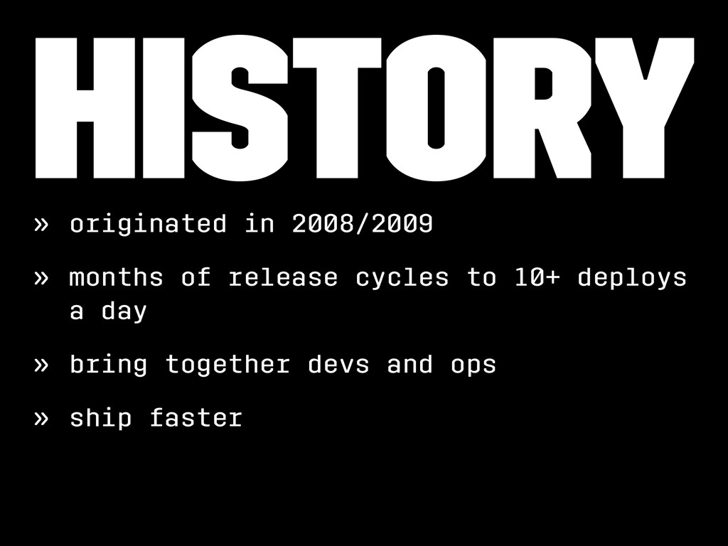 History » originated in 2008/2009 » months of r...