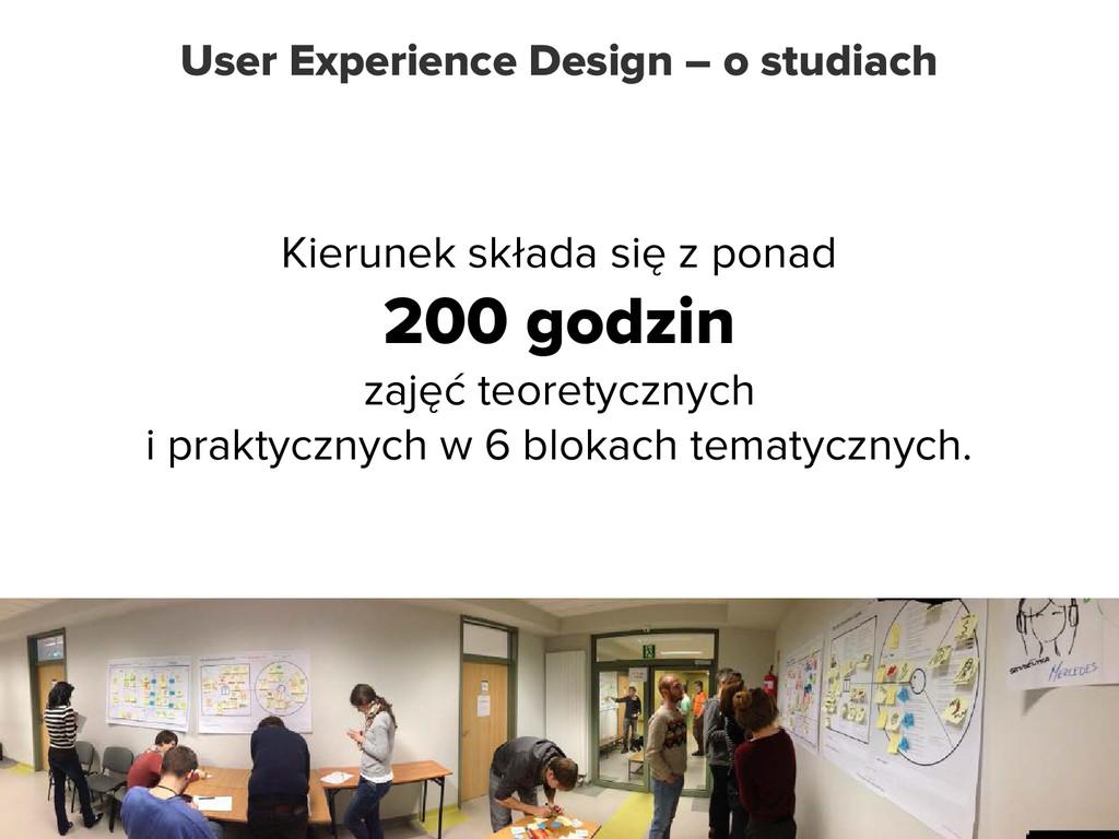 User Experience Design – o studiach Kierunek sk...