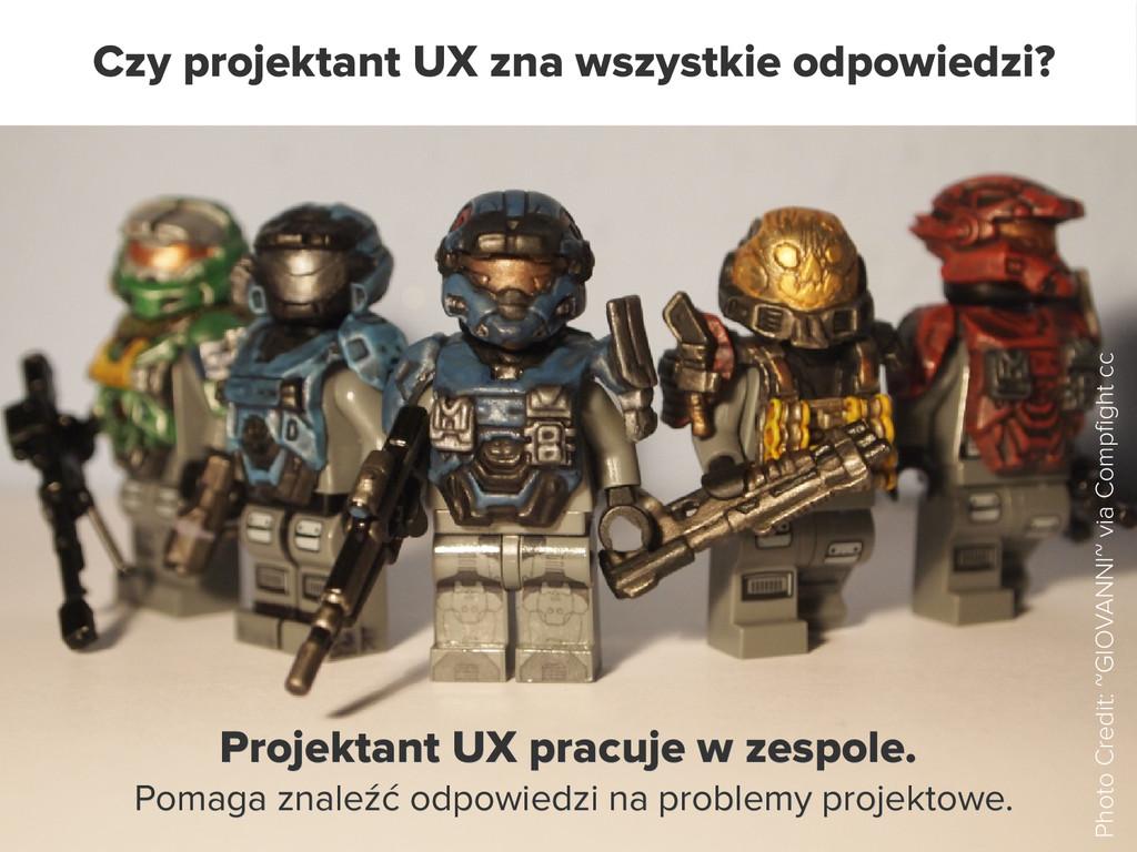 Czy projektant UX zna wszystkie odpowiedzi? Pho...