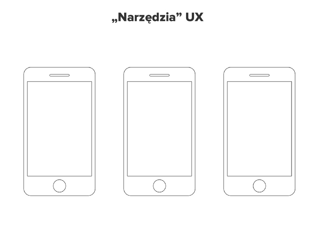 """Narzędzia UX """"Narzędzia"""" UX"""