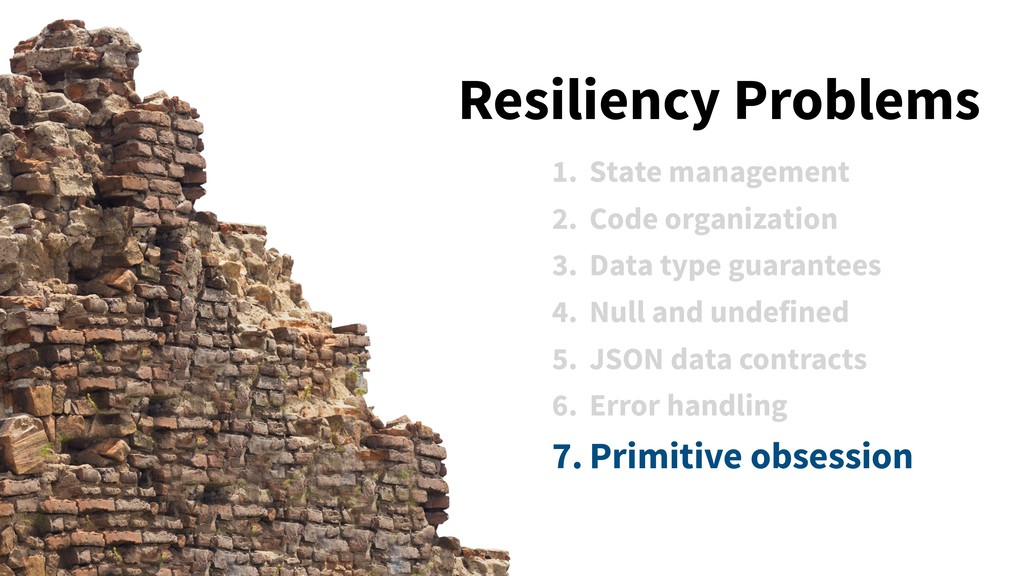 1. State management 2. Code organization 3. Dat...