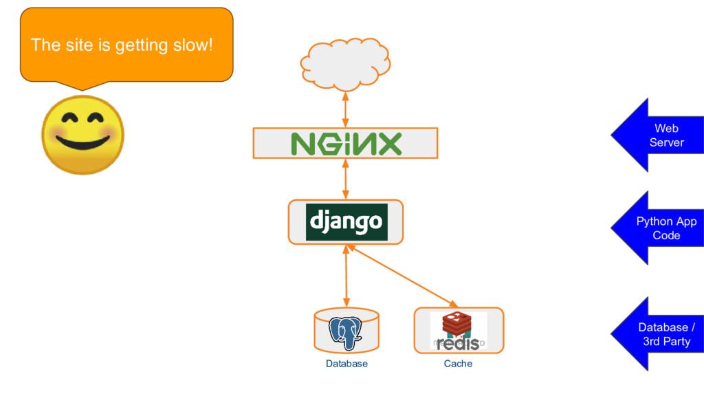 Database Database / 3rd Party Django Database C...