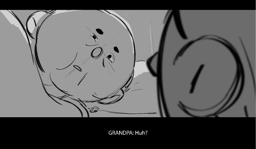 G R A N D P A : H u h ?