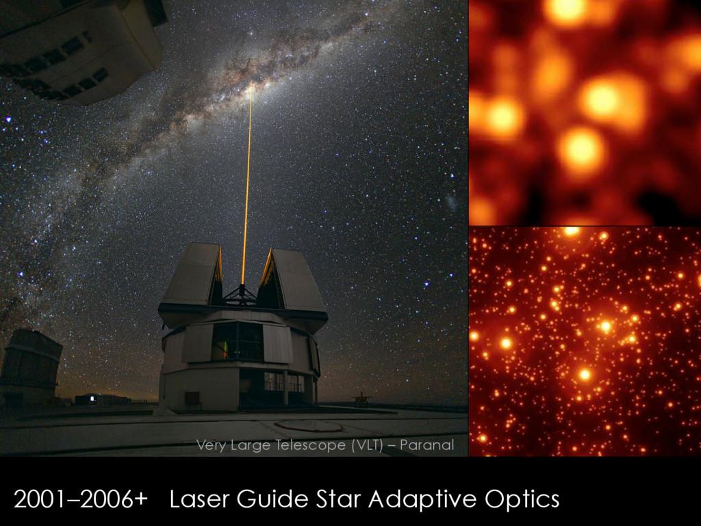 2001–2006+ Laser Guide Star Adaptive Optics Ver...