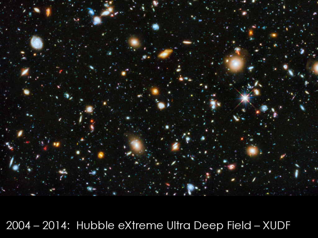 2004 – 2014: Hubble eXtreme Ultra Deep Field – ...