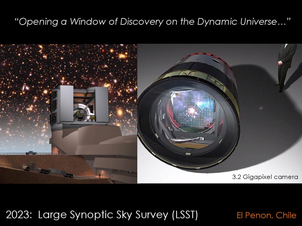 2023: Large Synoptic Sky Survey (LSST) El Penon...