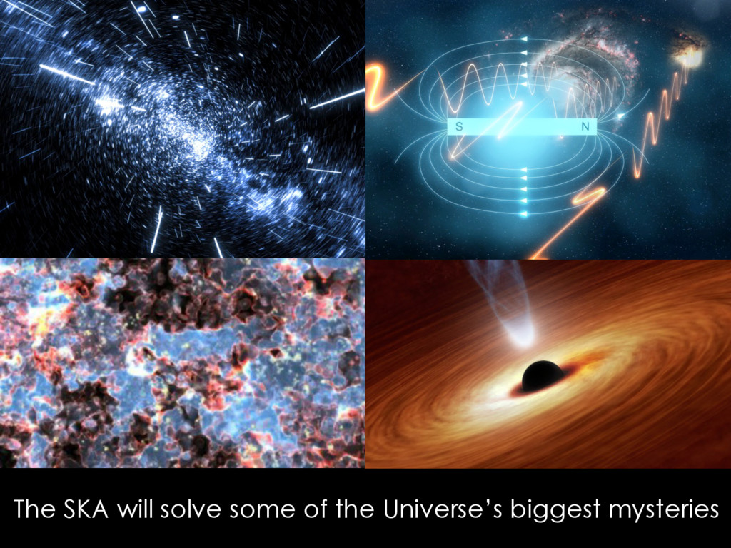 The SKA will solve some of the Universe's bigge...
